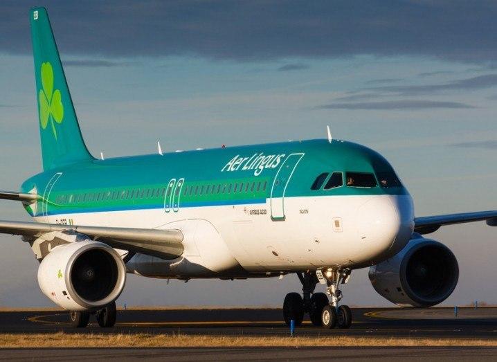 Aer Lingus drone