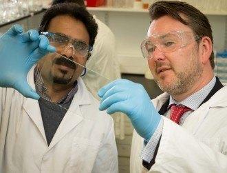 Irish researchers crack formula to make surfaces superbug-proof