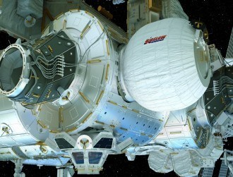 The ISS now has its own inflatable bedroom-sized pod