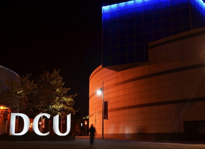 UStart Student Accelerator: DCU sign