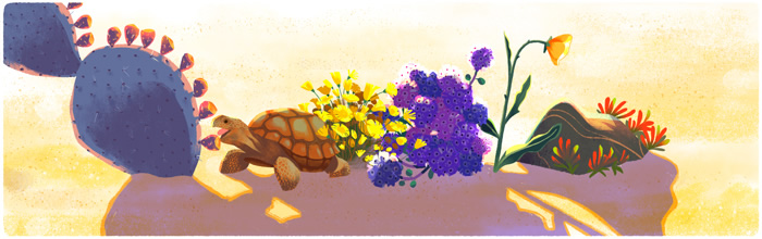 Desert and Tortoise Earth Day