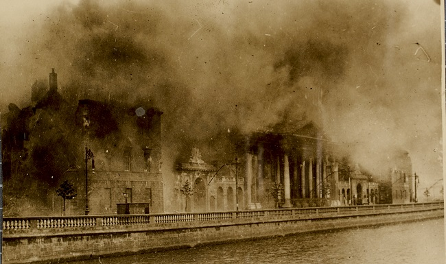 Four Courts fire