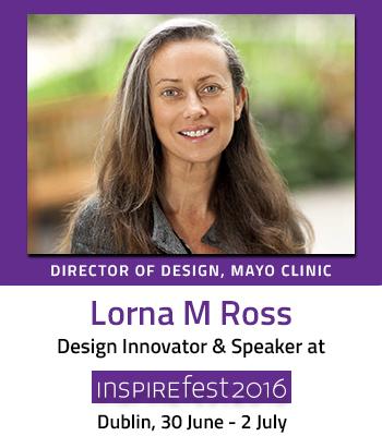 Inspirefest speaker Lorna M Ross