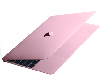 Apple brings out a brand new MacBook with a rose gold finish