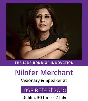 Inspirefest speaker Nilofer Merchant