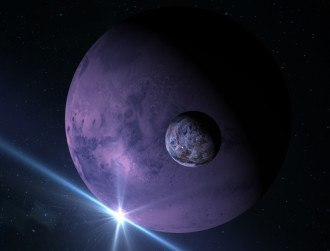 Hubble discovers dwarf planet Makemake's moon