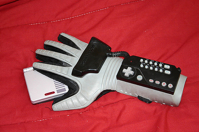 The Nintendo Power Glove by Mattel