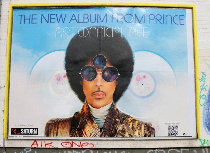 Prince NASA tweet