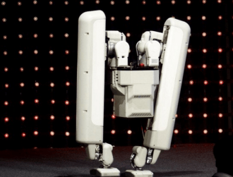 Alphabet-owned robot start-up shows off peculiar bipedal bot