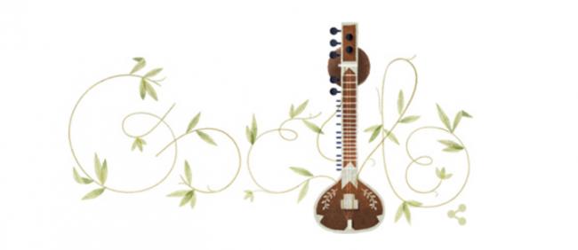 Ravi Shankar Google Doodle