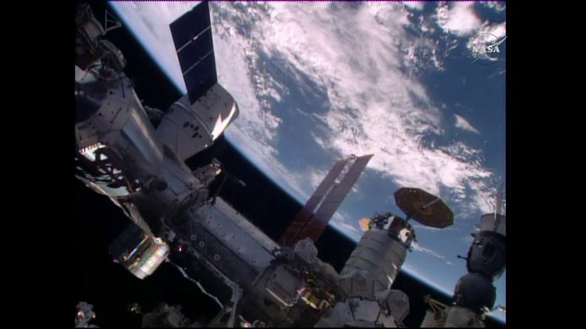 SpaceX delivery ISS