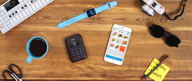 The iZettle card reader