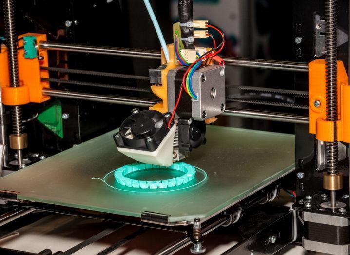 European Maker Week 3D printer