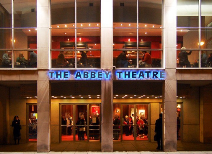 The 'Waking the Feminists' movement originated at the Abbey Theatre in Dublin, via Wikimedia Commons