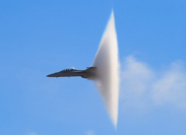 Tbps sound barrier