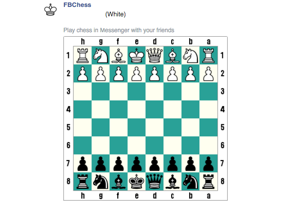 Chess Messenger