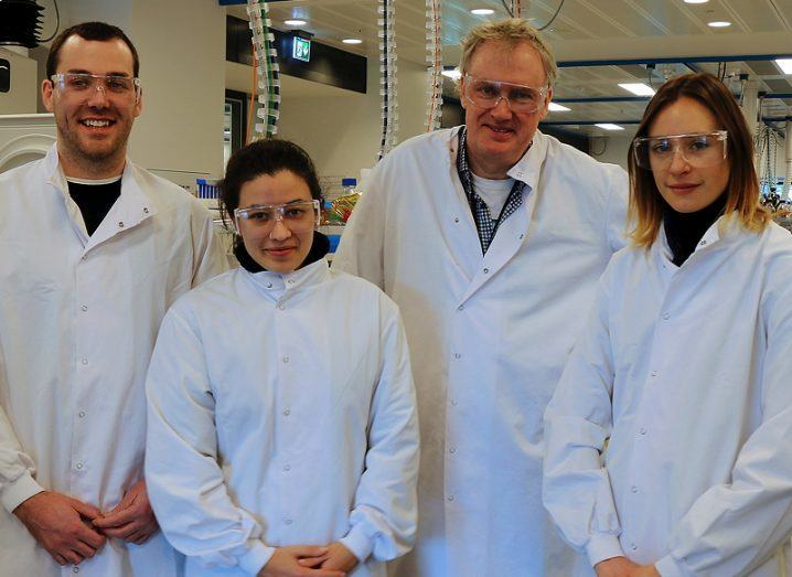 Prof Luke O'Neill and research team
