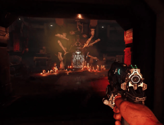Watch the opening levels of the new Doom game, you know you want to