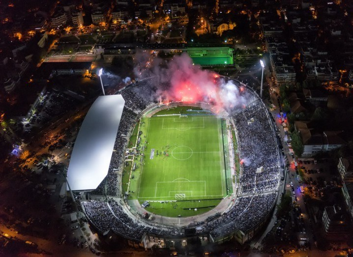 Euro 2016 drone stadium