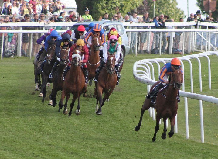 The 2015 Epsom Derby, via Wikimedia Commons