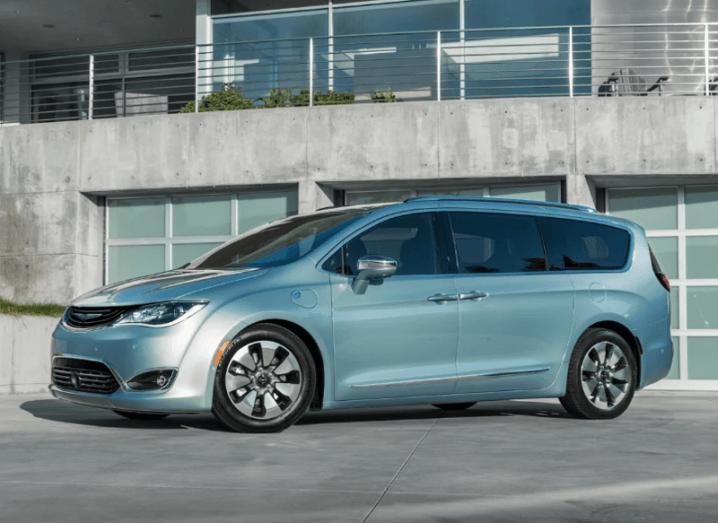 Google_Chrysler_minivan
