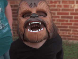 The happy Chewbacca is the best Star Wars story so far