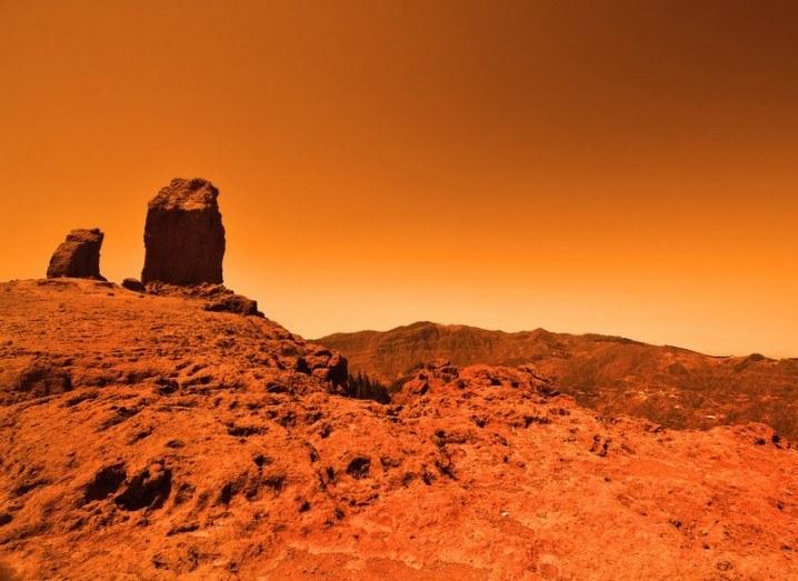 Mars tsunamis
