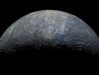 Mercury topography released in stunning detail ahead of sun transit