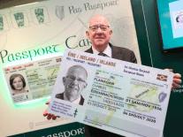 Irish passport card wins international design award