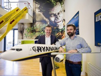 Ryanair reveals strategy to be a digital business with an airline bolted on
