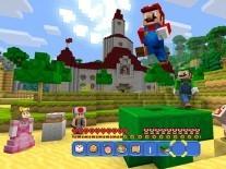 Watch as Super Mario, Minecraft and Wii U collide