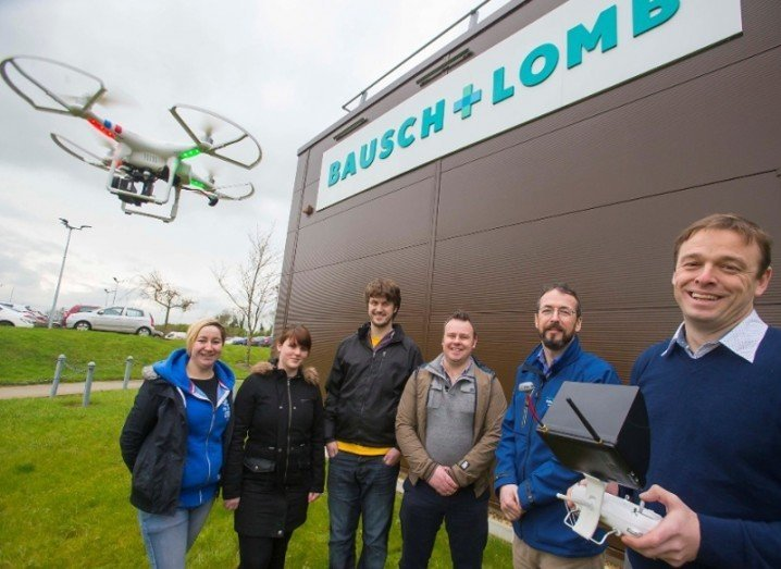Drones in Ireland: Architectural Technology & BIM students at WIT