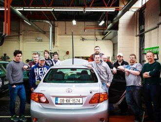 Irish engineering students have made their own self-driving car