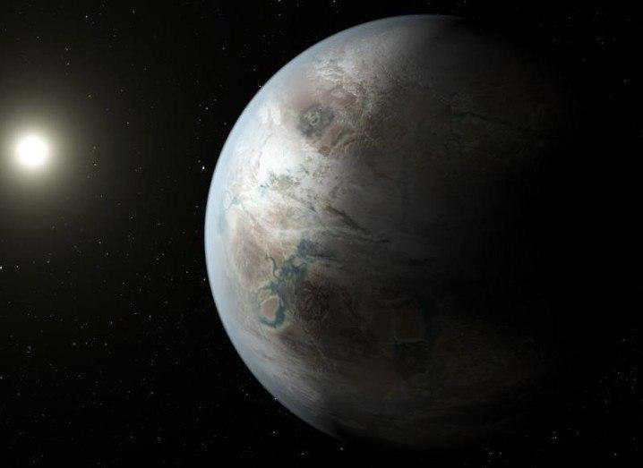 An artists rendition of Kepler-452b. Photo via NASA/JPL-Caltech/T. Pyle