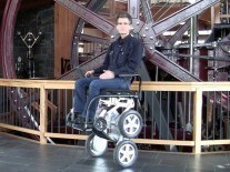 iBot: a stair-climbing wheelchair Toyota wants in on