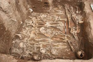 Black Death The paper suggests a connection between the Black Death and the modern-day plague pandemic as well as the persistence of plague in Europe between the 14th and 18th centuries, via Spyrou et al./Cell Host & Microbe 2016