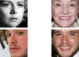 The MegaFace challenge highlights problems in facial recognition that have yet to be fully solved – such as identifying the same person at different ages and recognizing someone in different poses.University of Washington