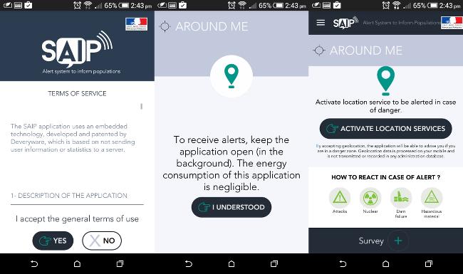 SAIP is very straightforward to set up on your smartphone
