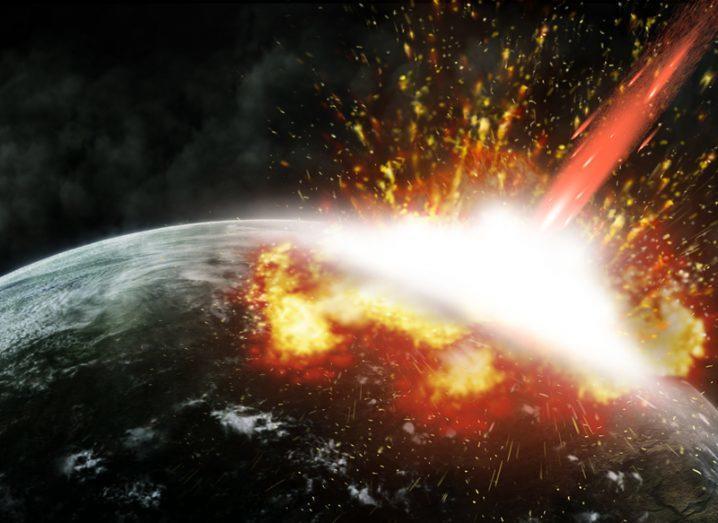 Asteroid Dinosaurs Mammals