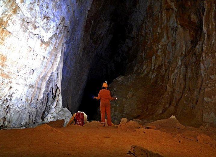 Astronauts ESA Caves