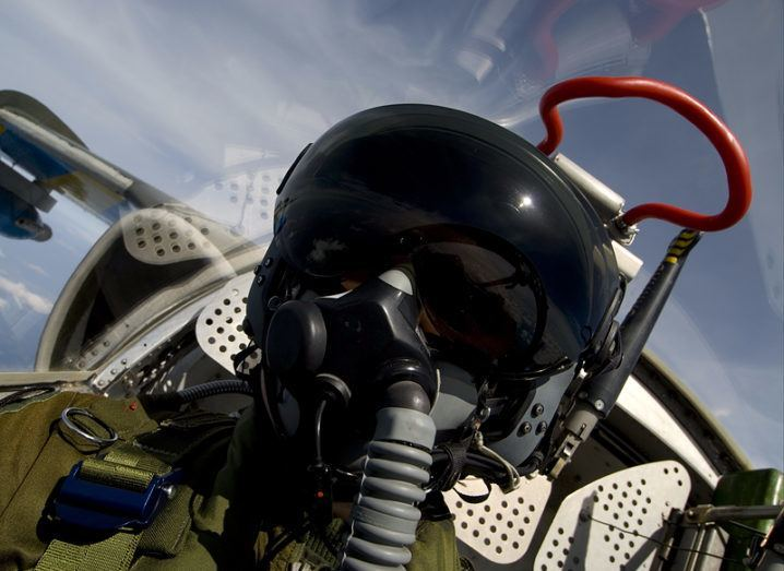 Combat simulator: fighter pilot
