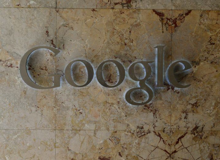 Faster: Google logo