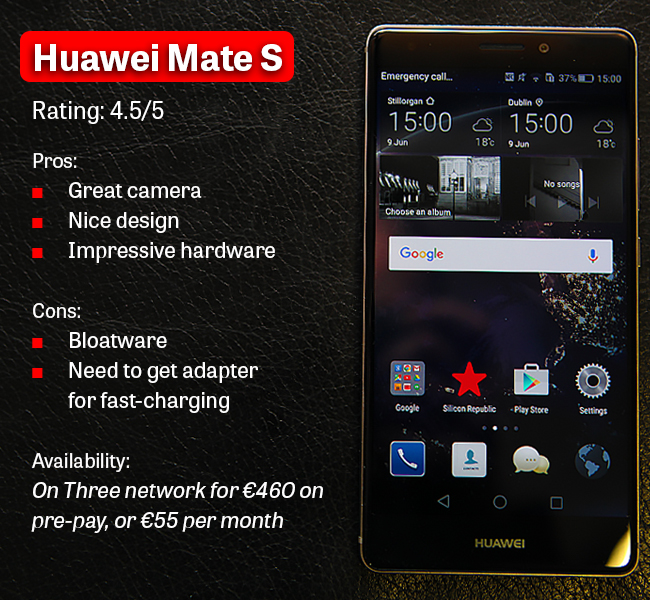 Huawei Mate S graphic