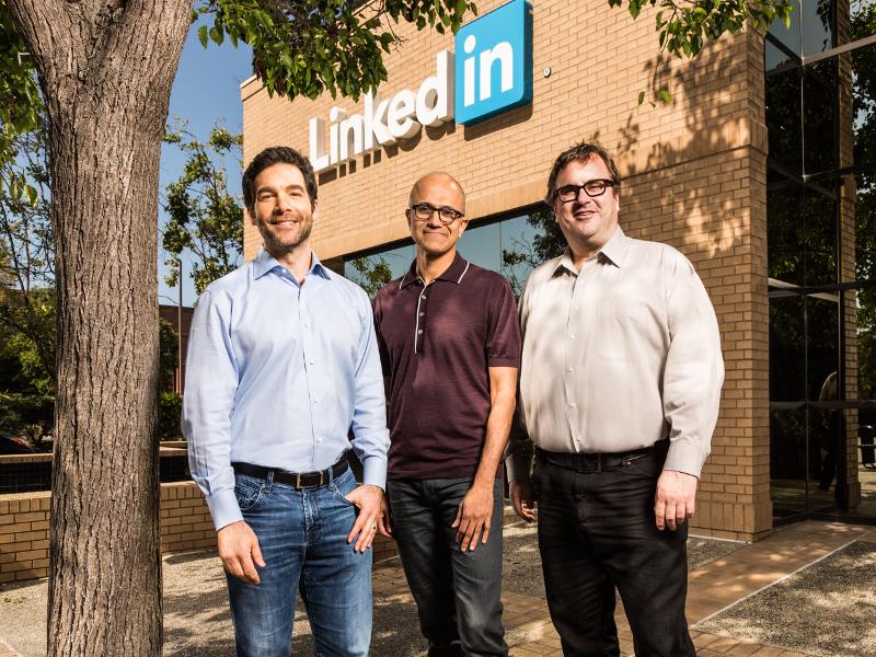 LinkedIn-Microsoft