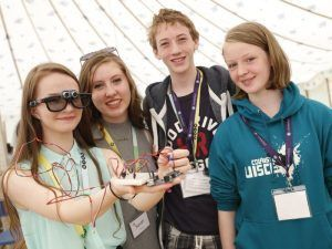 Participants at 2015's Inspirefest Family Fringe