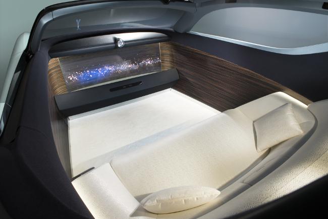 Rolls-Royce interior