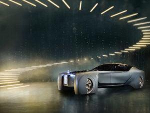 Rolls-Royce Vision Next 100 concept car