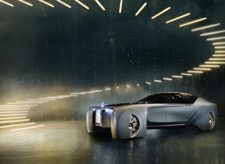 Rolls-Royce Vision Next 100 concept car