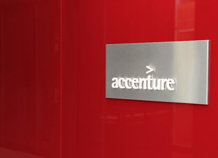 Accenture signage