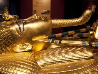Tutankhamun dagger was crafted from cosmic metal